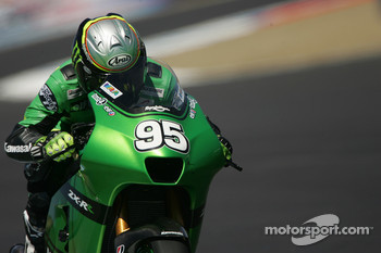 Roger Lee Hayden on the MotoGP Kawasaki
