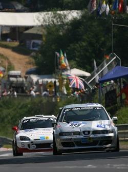 #105 MS Racing Seat Leon: Manfred Sick, Harald Böttner, Andreas Potrzeba