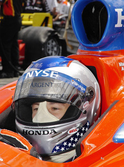 Marco Andretti thinks of qualifying