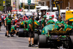 Champ Car pit lane