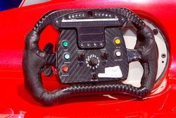 Champ Car steering wheel of Justin Wilson