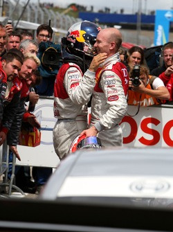 Alexandre Premat, Audi Sport Team Phoenix, Audi A4 DTM gave up his leading position in the race in favour of  Martin Tomczyk, Audi Sport Team Abt Sportsline, Audi A4 DTM. After the race Premat received many thanks and hands by the Audi team aswell as Mart
