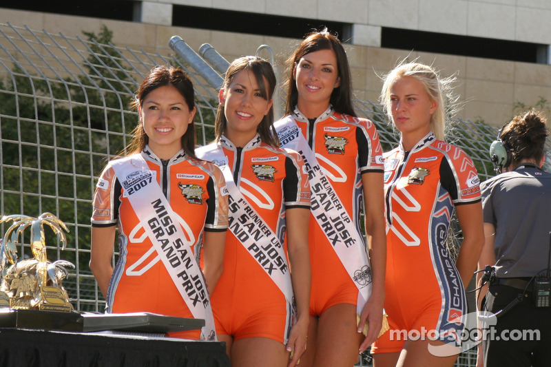 Miss San Jose Grand Prix and friends