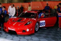 #203 JMB Racing Ferrari 430 GT3: Pascal Ballay, Damien Chanard