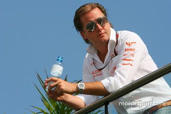 Michiel Mol, Director of Formula One Racing, Spyker and Spyker F1 Team