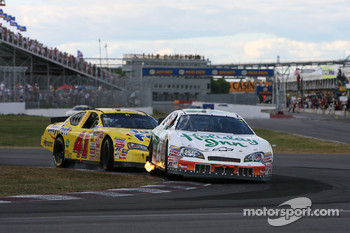 Jeff Burton and Scott Pruett