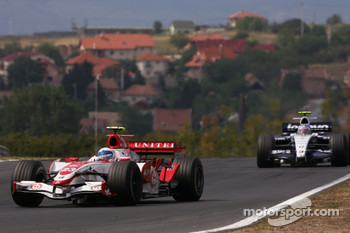 Anthony Davidson, Super Aguri F1 Team, Alexander Wurz, Williams F1 Team
