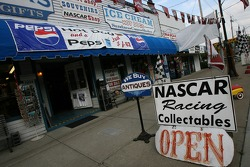 Memorabilia store in downtown Watkins Glen
