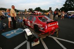 A mini Bud Chevy at the Watkins Glen fan fest