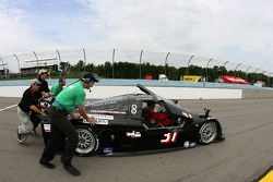 #31 Matt Connolly Motorsports Pontiac Chase: Matt Connolly, Mike Halpin pushed on pitlane