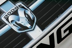 Detail of the Valvoline Dodge