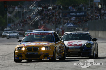 #96 Turner Motorsport BMW M3: Bill Auberlen, Chris Gleason, #41 TRG Porsche 997: Ted Ballou, Andy Lally