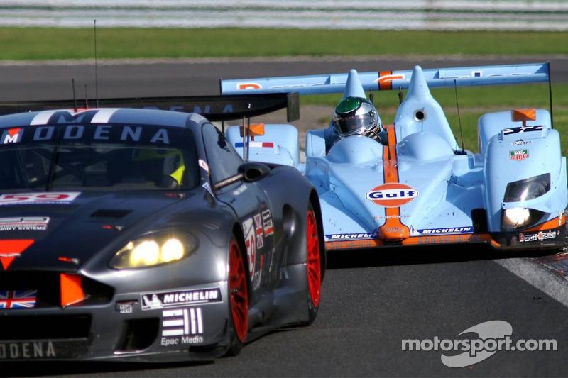 #59 Team Modena Aston Martin DBR9: Antonio Garcia, Christian Fittipaldi