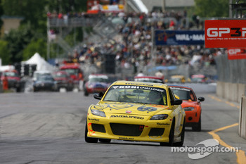 #69 SpeedSource Mazda RX-8: Jose Armengol, David Haskell