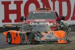 #60 Michael Shank Racing Lexus Riley: Mark Patterson, Oswaldo Negri