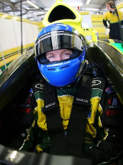 Ian Dyk, driver of A1 Team Australia