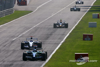 Jenson Button, Honda Racing F1 Team , Nico Rosberg, WilliamsF1 Team