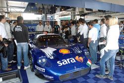 Scuderia Playteam Sarafree receives guests