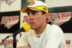 Kevin Harvick speaks during a press conference