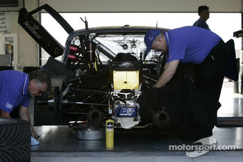 SunTrust Racing team members at work