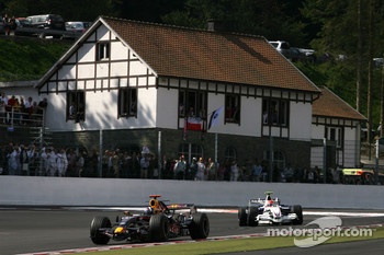 David Coulthard, Red Bull Racing, Robert Kubica,  BMW Sauber F1 Team