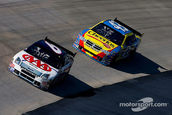 David Ragan and Bobby Labonte