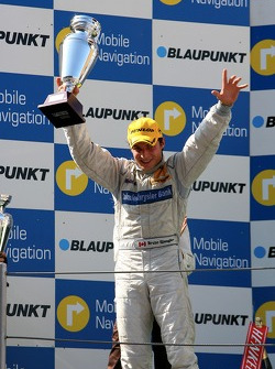 Podium: Bruno Spengler, Team HWA AMG Mercedes