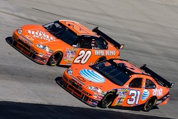 Jeff Burton and Tony Stewart