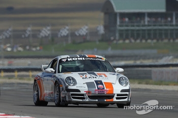 #49 Marcus Motorsports Porsche 997: Spencer Pumpelly, Jim Lowe, Darren Law