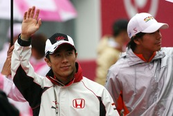 Takuma Sato, Super Aguri F1 Team, Sakon Yamamoto, Spyker F1 Team