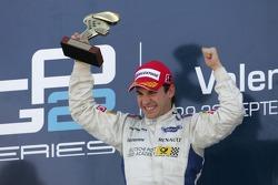 Timo Glock celebrates winning the 2007 GP2 Series title