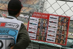 Track marshalls guide to the Formula 1 Grid