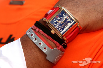 The watch of Dr Vijay Mallya, Kingfisher