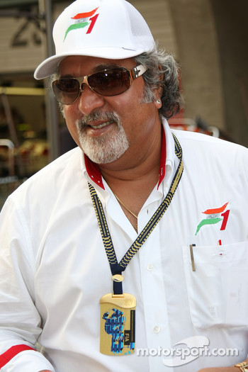 Dr Vijay Mallya, Part of the consortium who have purchased Spyker F1 Team