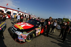 The Texaco/Havoline Dodge at tech inspection