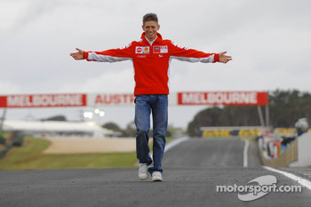 Casey Stoner at home