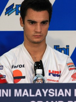 Press conference: pole winner Dani Pedrosa