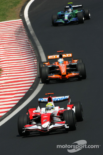 Ralf Schumacher, Toyota Racing, Adrian Sutil, Spyker F1 Team