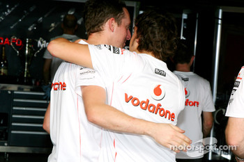 Fernando Alonso, McLaren Mercedes says goodbye to his team