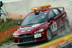 Mitsubishi Lancer Evolution X service vehicle