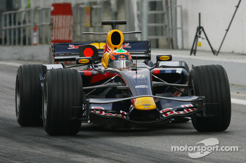 Karun Chandhok, Test Driver, Red Bull Racing, RB3