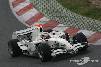 Andreas Zuber, Test Driver, Honda Racing F1 Team, RA107