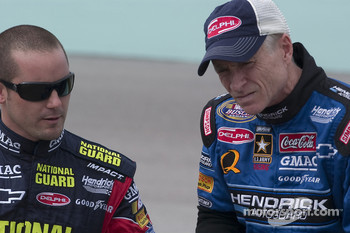Casey Mears and Mark Martin