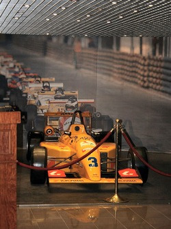 Macau Grand Prix Museum - celebrating 25 years of the F3 Macau Grand Prix: Display of Formula Three cars in the museum