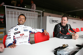 Andy Priaulx and Colin McRae