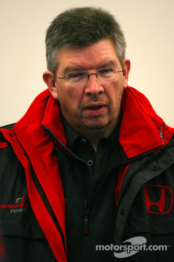 Ross Brawn Team Principle, Honda Racing F1 Team