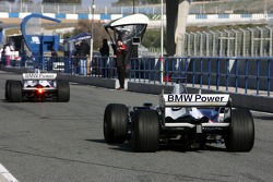 Javier Villa, Test Driver, BMW Sauber F1 Team
