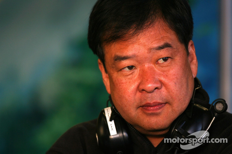 Shuhei Nakamoto, deputy MD, Honda Racing F1 Team