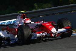 Kamui Kobayashi, Test Driver, Toyota F1 Team, TF107