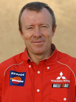 Repsol Mitsubishi Ralliart Team: technical director Thierry Viardot